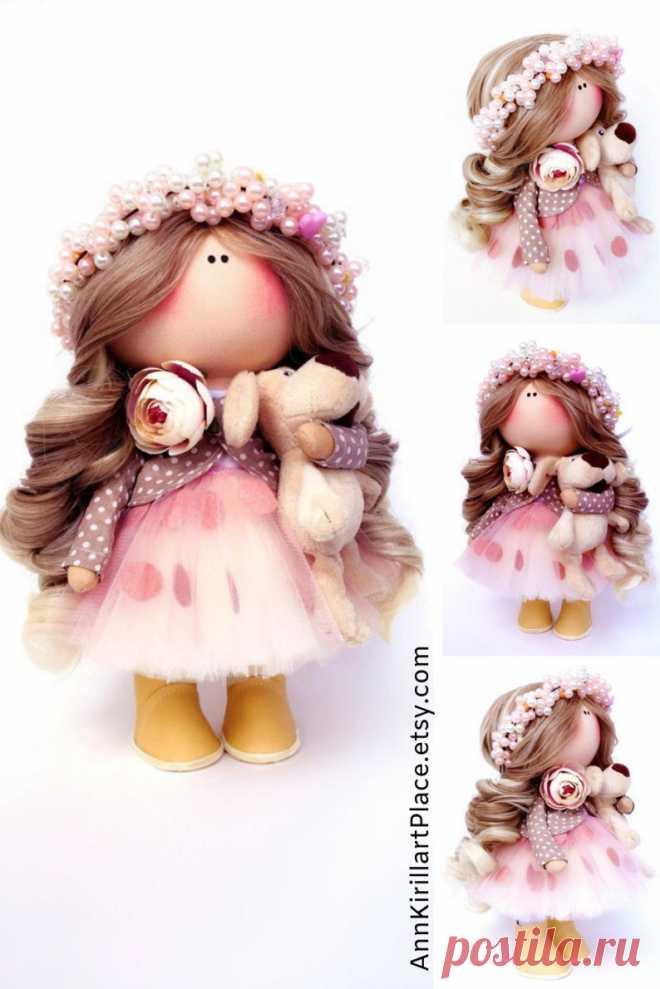 Interior Tilda Doll Nursery Bambole Fabric Doll Textile | Etsy