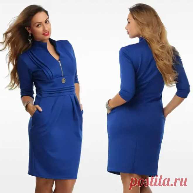модели платьев синего цвета из габардина для полных: 14 тыс изображений найдено в Яндекс.Картинках