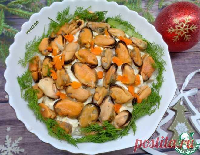 Салат с морепродуктами – кулинарный рецепт