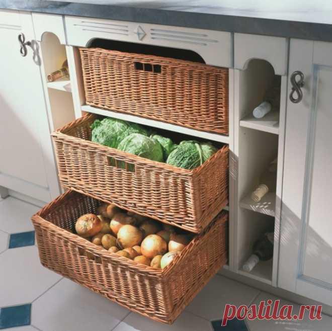 Los consejos del almacenaje correcto, que ayudarán poner el orden en la cocina