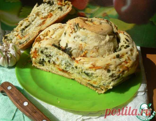 Картофельный хлеб-улитка – кулинарный рецепт