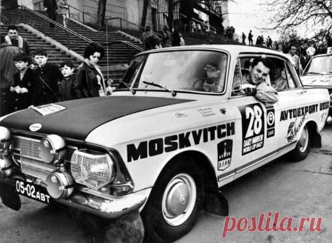 Как советский Москвич 412 стал легендой автомобильных гонок: 4 лучших выступления на международных ралли-рейдах . Чёрт побери
