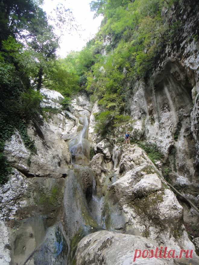 Agura Waterfalls. Adler. 2012