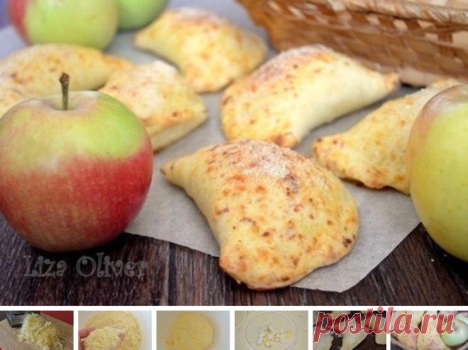 Los pastelillos de manzana del test de queso