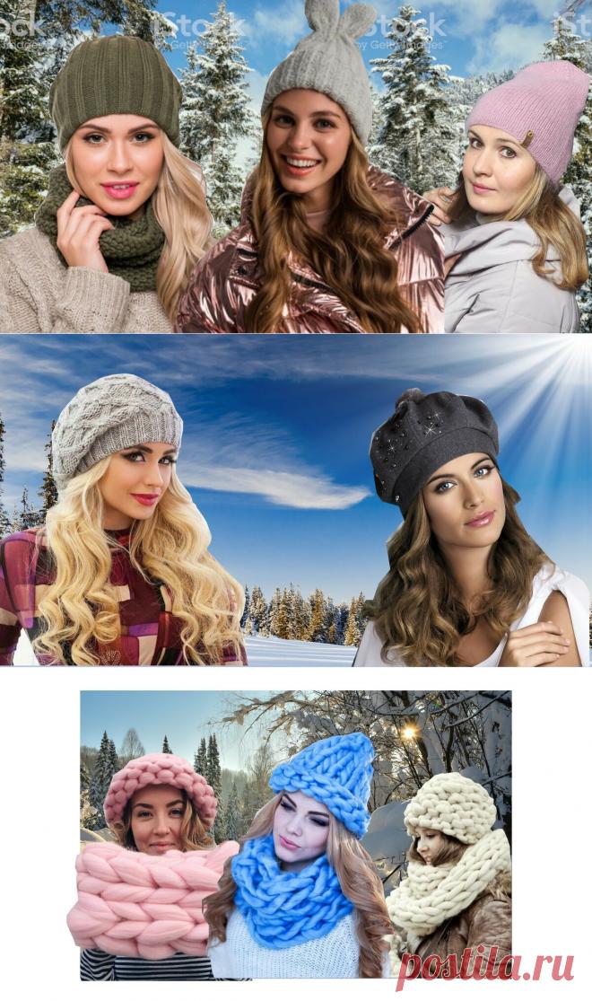 Какие шапки будем носить этой зимой, обзор и мк шапки бини