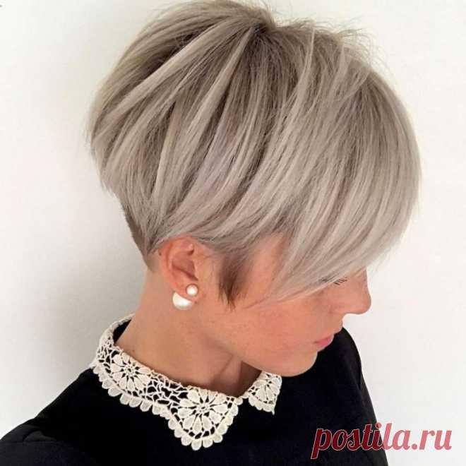 Модные стрижки на короткие волосы / Все для женщины