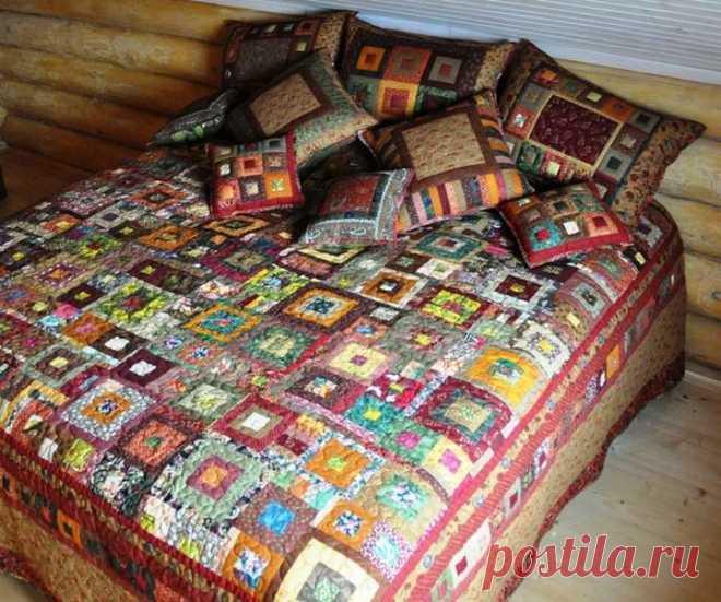 Лоскутное одеяло своими руками схемы фото 303