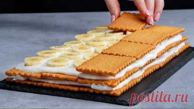 Никакой духовки и часов проведенных на кухне! Удивите всех красочным фруктовым тортом!  Appetitno.TV