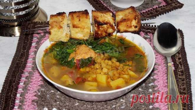 Суп с чечевицей и картофелем рецепт с фото - 1000.menu