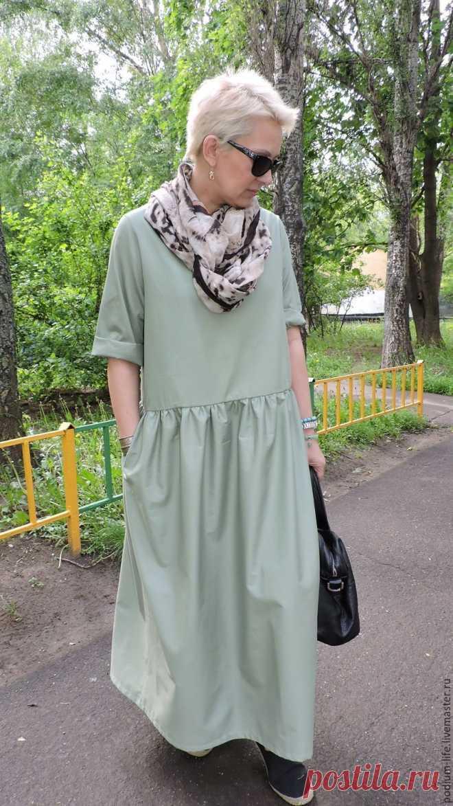 0649cb48162 Летнее платье Бохо – купить в интернет-магазине на Ярмарке Мастеров с  доставкой Летнее платье