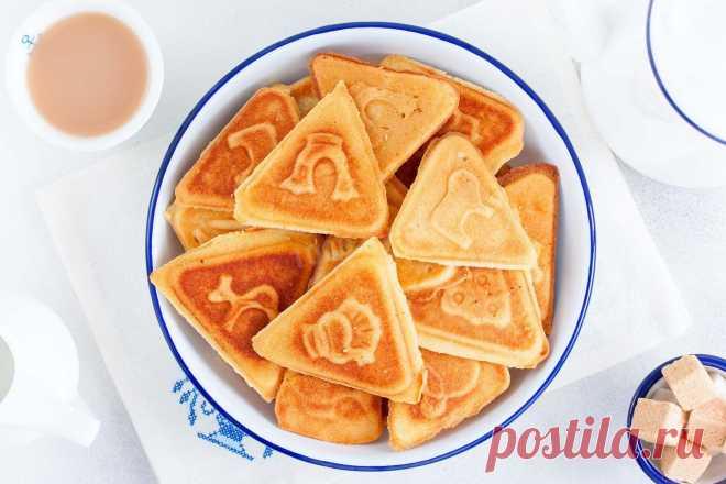 Печенье в форме на газу как в детстве рецепт с фото пошагово и видео - 1000.menu
