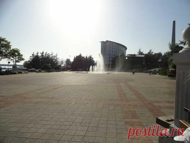 Туапсе - фонтан - май 2014