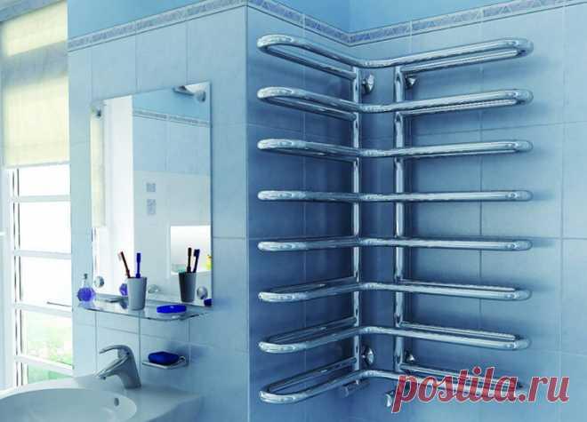 Как выбрать полотенцесушитель водяной для ванной комнаты?