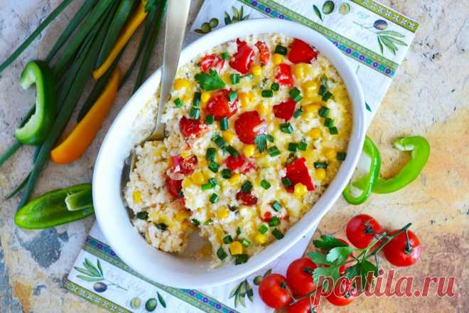 Рис в сметане в духовке рецепт с фото пошагово и видео - 1000.menu