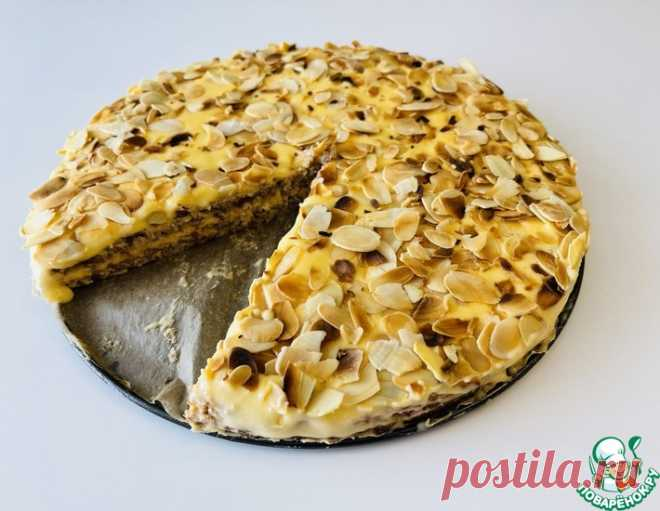 Миндальный торт Альмонди – кулинарный рецепт