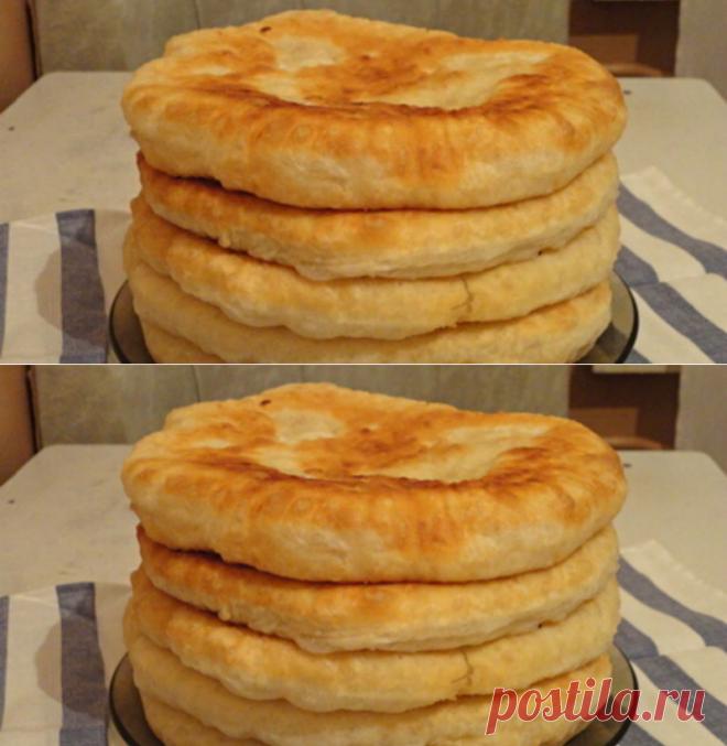 С этим рецептом забудешь, что такое хлеб! Пушистые лепешки на кефире: вкусно и быстро. Готово за 15 минут! - Женский Журнал