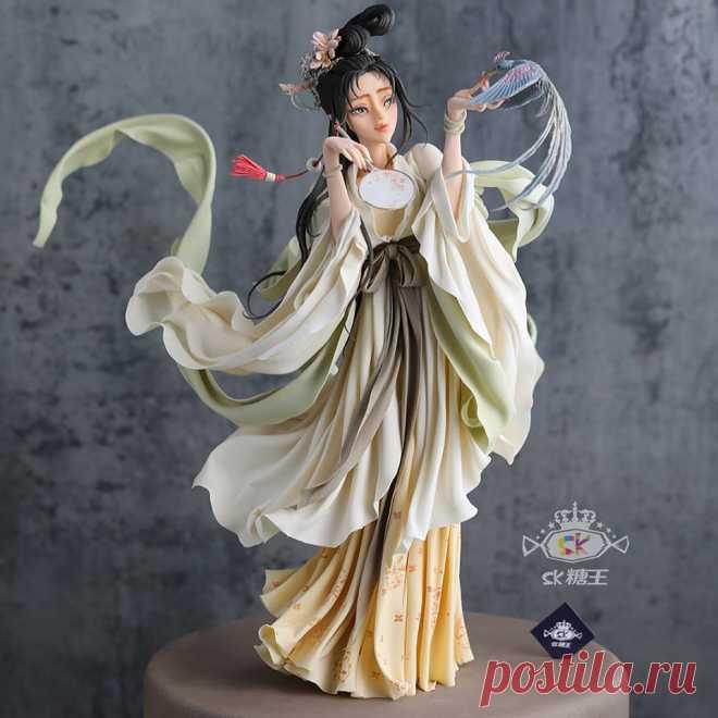 Сладкое искусство: такие торты от Zhou Yi Вы ещё не видели Китайский кондитер Чжоу Йи (Zhou Yi) более известен в своей стране как «Сахарный Король» и, глядя на его украшения ручной работы, легко понять, почему.
