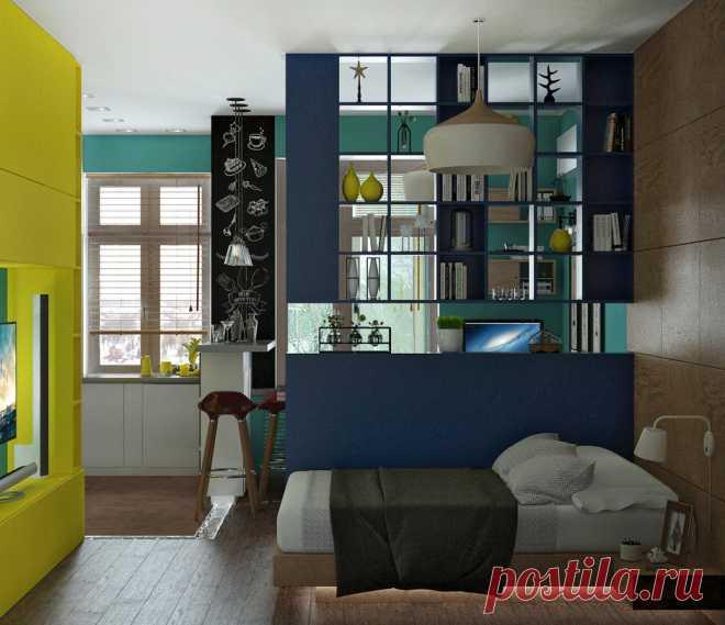 Как разместить на 30 квадратах 4 комнаты: проект в Ростове-на-Дону — INMYROOM