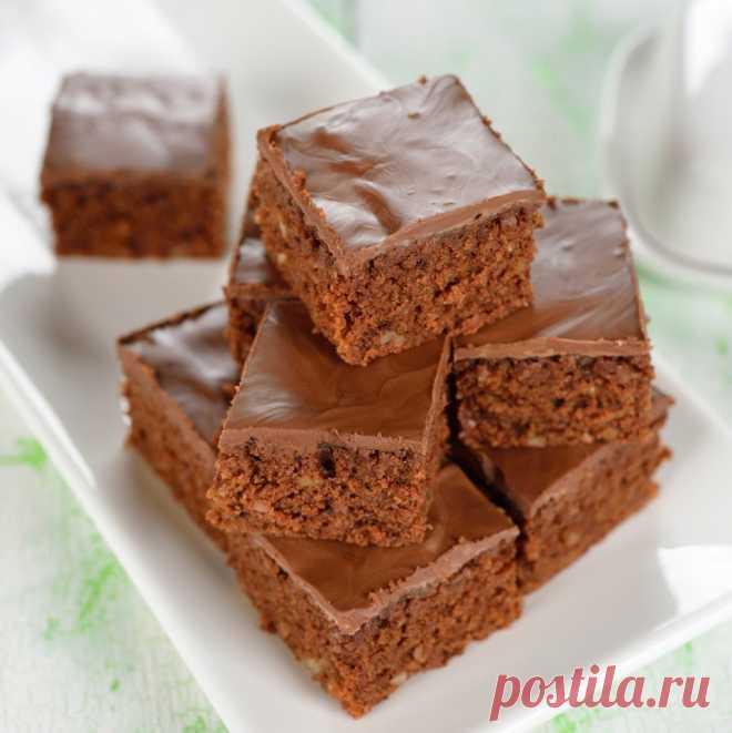 Как приготовить простые шоколадные пирожные. - рецепт, ингредиенты и фотографии