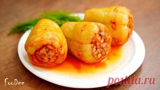 Фаршированные перцы – самый простой и вкусный рецепт!