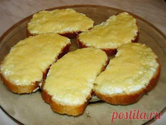 Горячие бутерброды с яйцом и сыром за 15 минут