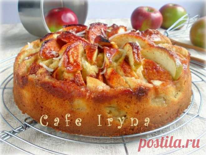 Яблочный пирог от бабушки Эммы «Капризная дама»