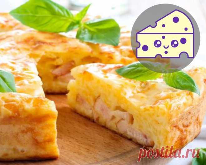 Проще и вкуснее пирога не придумаешь: 10 минут на подготовку и полчаса на выпечку