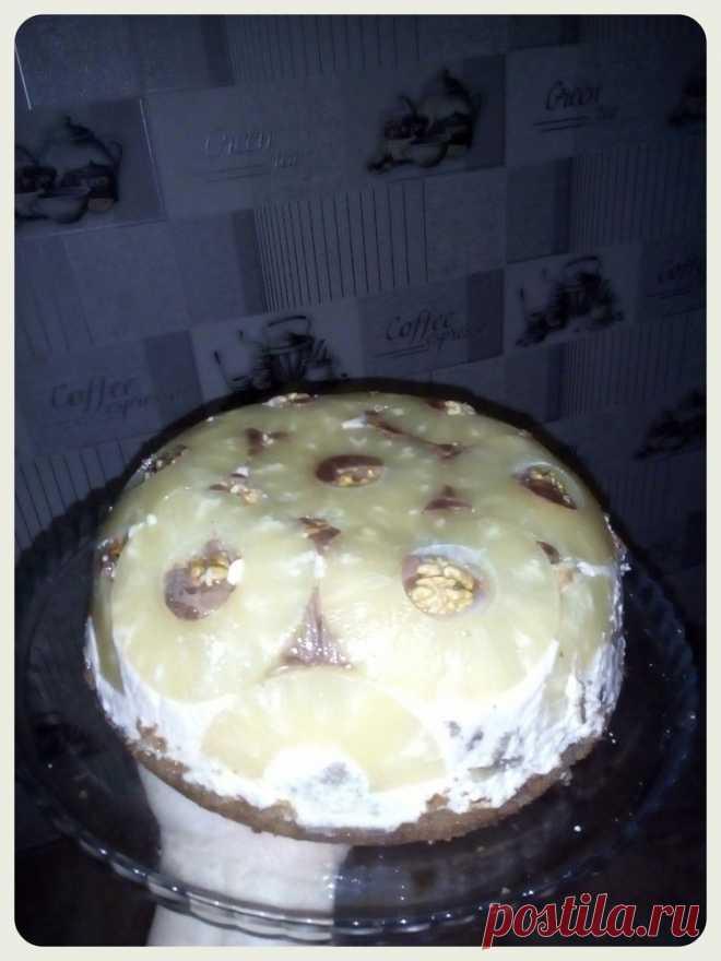 Pineapple Sphere cake - Simple recipes of Овкусе.ру
