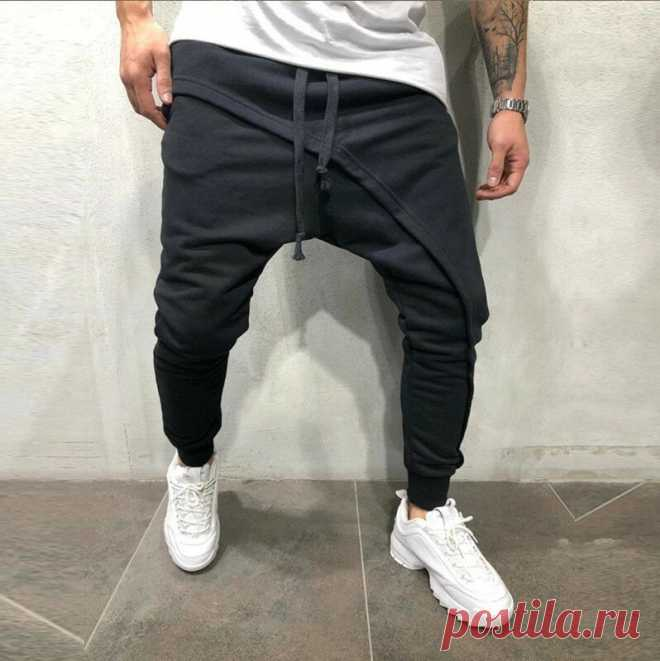 Men's joggers pants elastic cotton casual tactical pants comfortable breathable drawstring trousers fitness sport cycling hiking Sale - Banggood.com