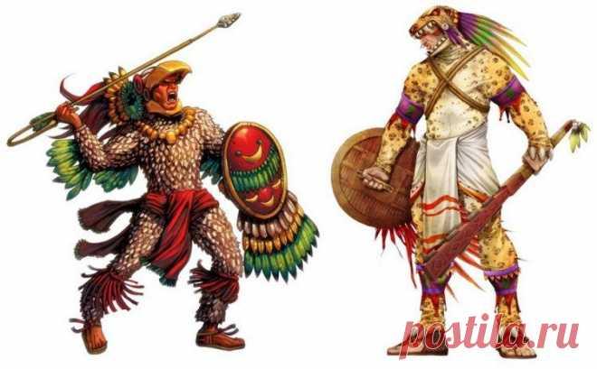 Древняя цивилизация ацтеков. Интересные факты.