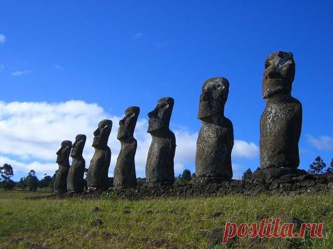 Прогулка по острову Пасхи | ФОТО НОВОСТИ