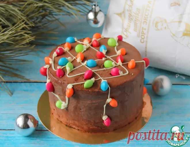 Бисквитный торт с кремом Тоффи – кулинарный рецепт