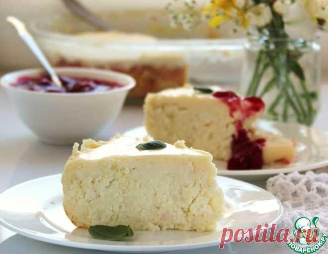 Творожная запеканка под сметанной заливкой – кулинарный рецепт