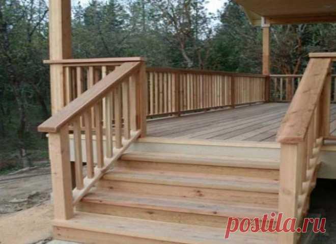 Как сделать крыльцо к веранде частного дома: Этапы строительства и Пошагово- Обзор +Видео