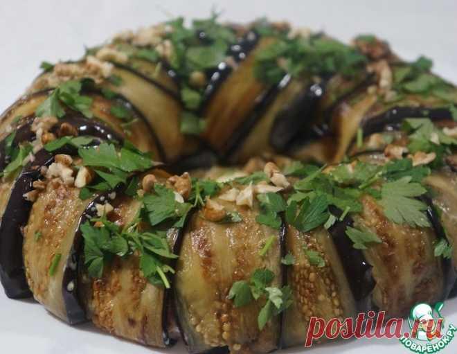 Салат с баклажанами – кулинарный рецепт