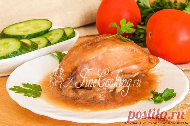 Курица по-еврейски -