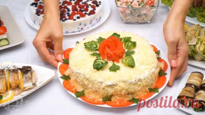 МЕНЮ на День Рождения! Готовлю 8 блюд на канале