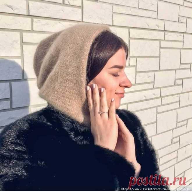 Капюшон спицами с описанием | Хозяйка своего дома | Яндекс Дзен