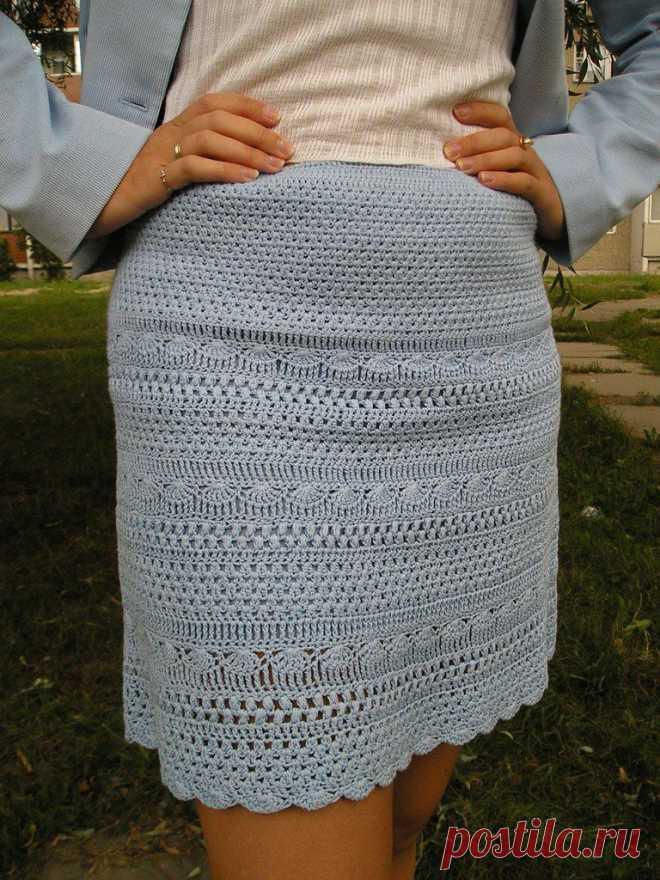 Теплая юбка.