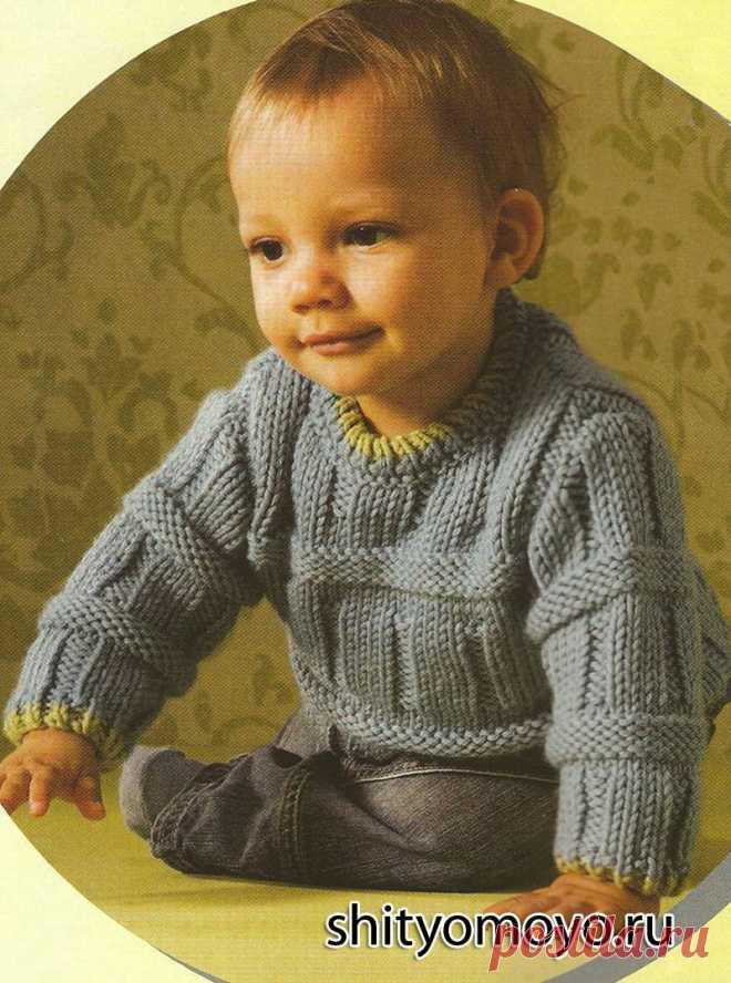 детские модели для мальчиков 2-3года спицами - Поиск в ...
