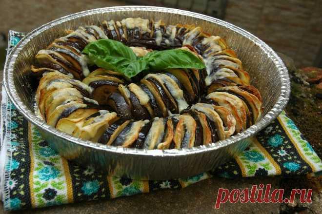 Гармошка из баклажана и картошки: pratina — ЖЖ