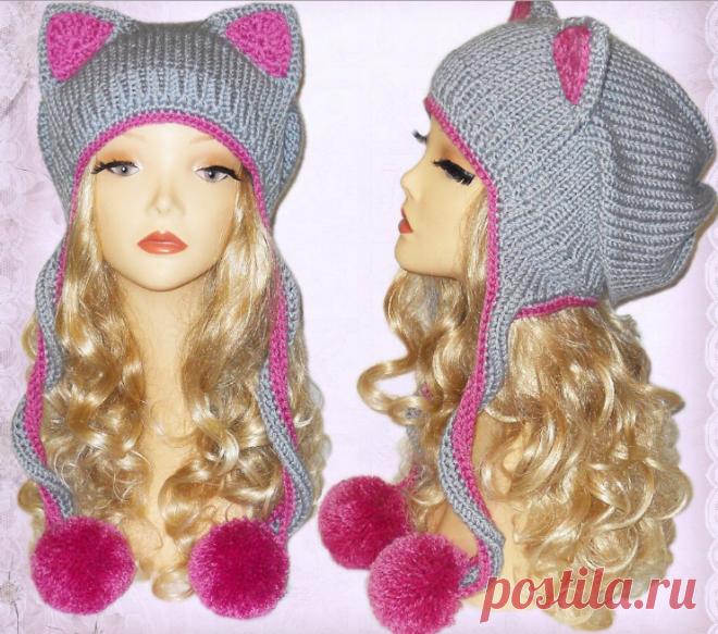 Вязание шапочки для девочек спицами и крючком с описанием: вязаные летние, осенние, зимние шапки для девочек и новорожденных с фото и схемами | QuLady