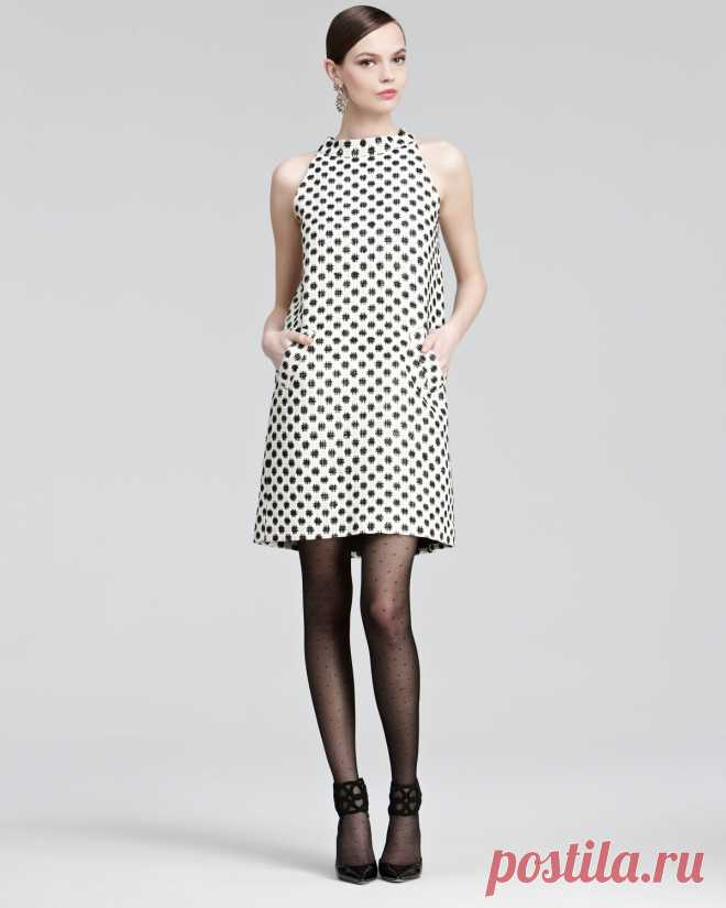 Создание выкройки платья-трапеции   FashionElement.ru