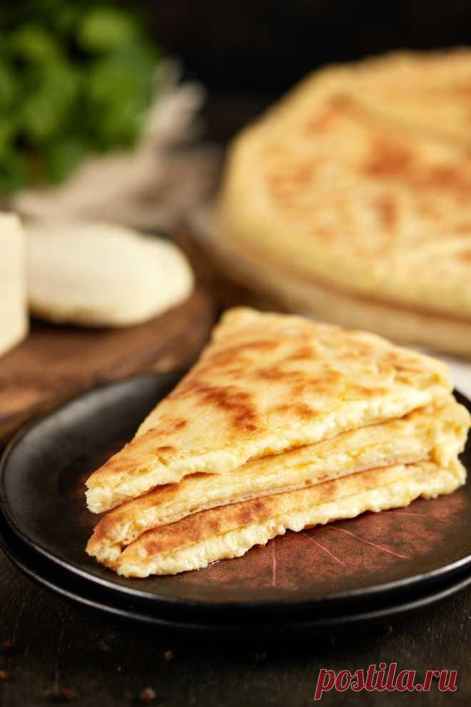Осетинский пирог с сыром рецепт с фото пошагово Осетинский пирог с сыром - пошаговый кулинарный рецепт приготовления с фото, шаг за шагом.