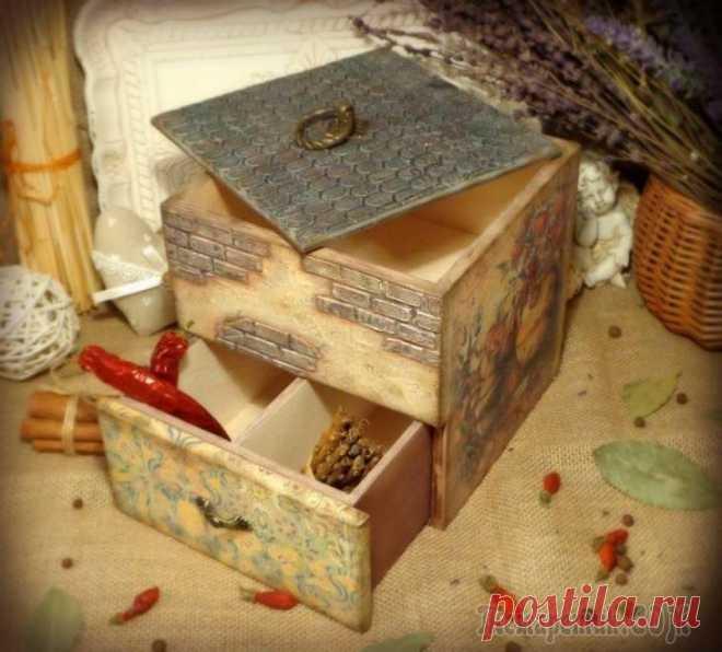 Органайзер для кухни «Винтажный комод»