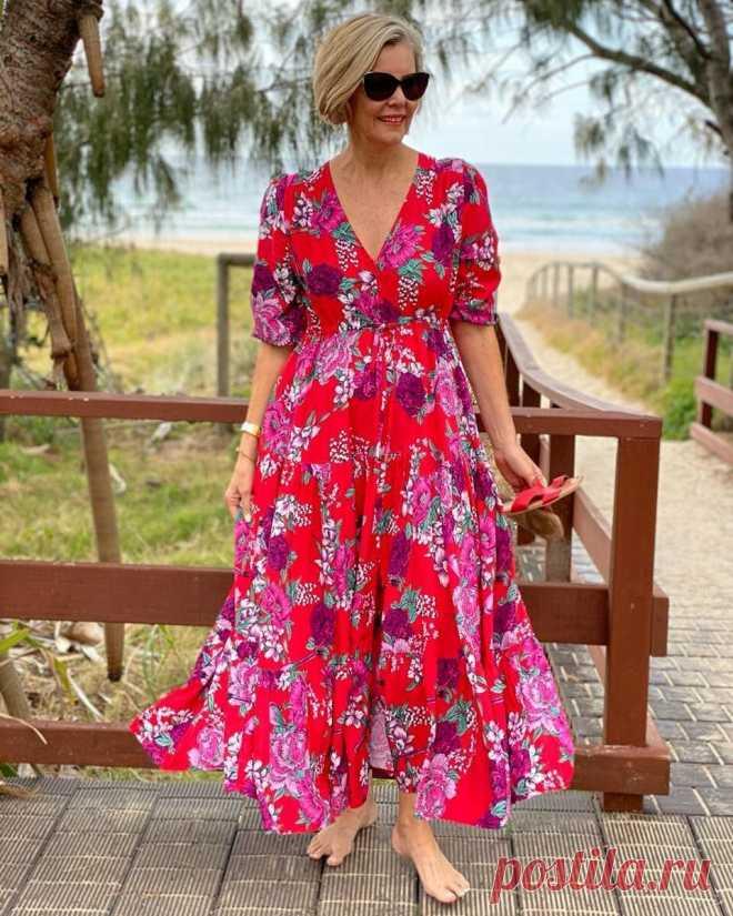 Летние платья для женщин 50-60 лет: от модных новинок до нестареющей классики | LADY DRIVE 🎯 | Яндекс Дзен