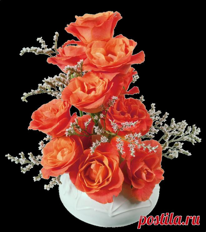 Анимационные открытки букет цветы