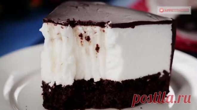 Потрясающе вкусный, нежный, воздушный десерт!