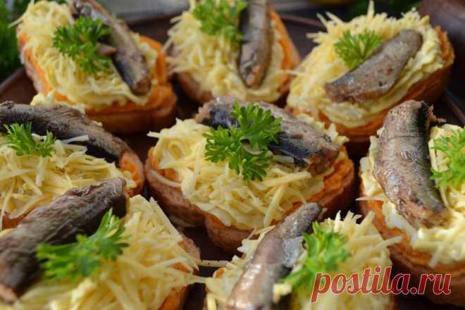 Потрясающая закуска, напоминающая, всеми любимый салат -