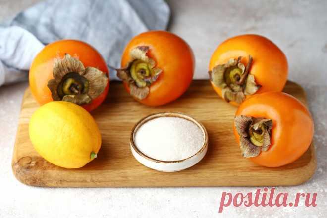 Полезный компот из хурмы: рецепт пошаговый с фото | Меню недели